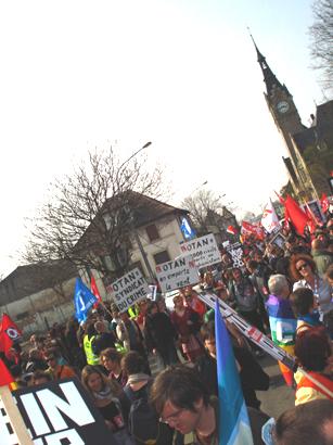 Strasbourg demo