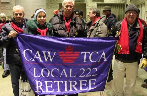 Local 222 retirees