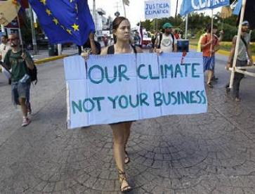 Our climate. Not your business
