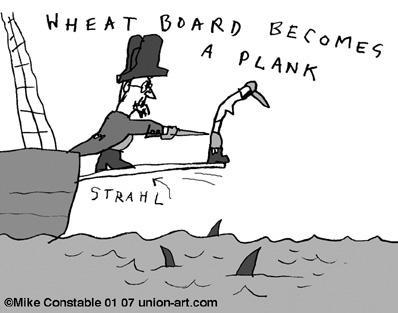 Wheat Board Becomes a Plank