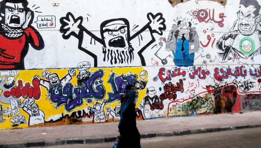 Graffiti in Egypt