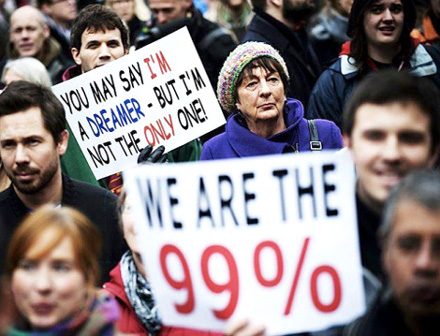 We Are The 99 Per Cent