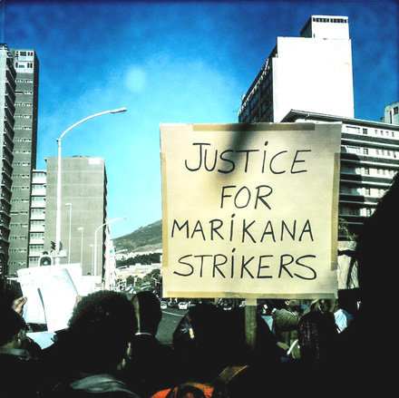 Justice for Marikana strikers