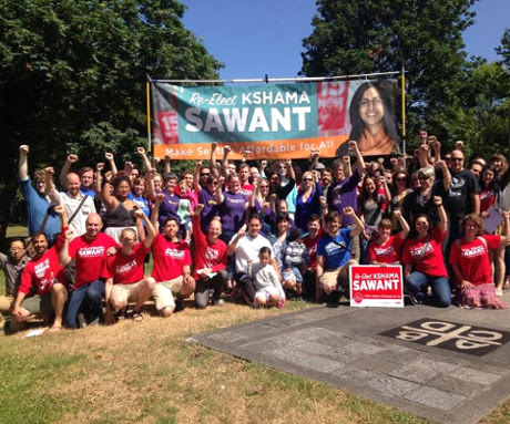 Kshama Sawant election team