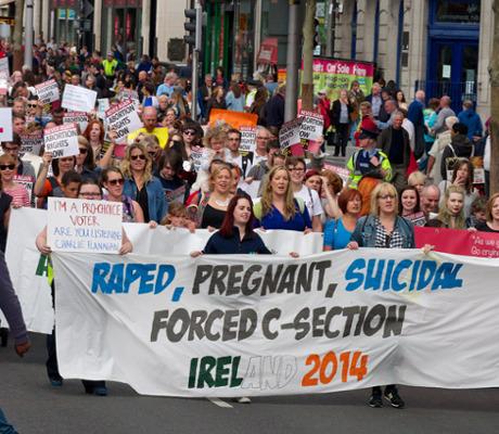 Raped, Pregnant, Suicidal