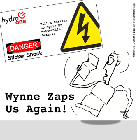 Wynne Zaps Us Again by Mike Constable