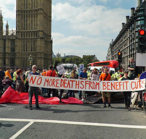 DPAC rally: No More Deaths From Benefit Cuts