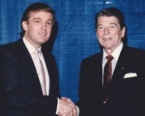 Trump and Reagan