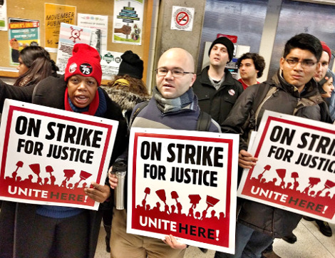 On Strike for Justice