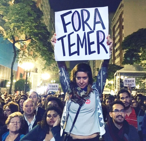 Fora Temer - Out with Temer