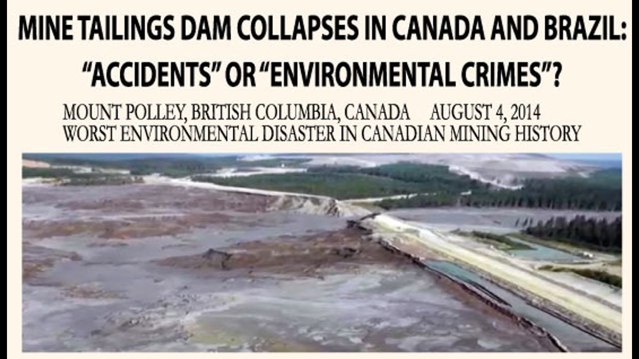 Image result for Canadian mining and environmental disaster pictures
