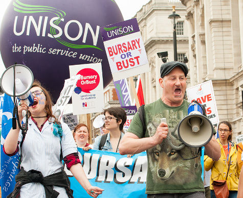 Unions protest - John Gomez/Flickr