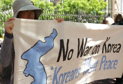 No War on Korea - Koreans Want Peace