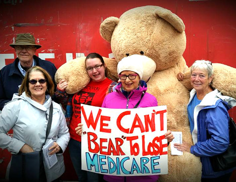 We Can't Bear to Lose Medicare