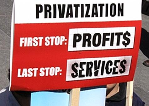 Privatization - First stop: Profits