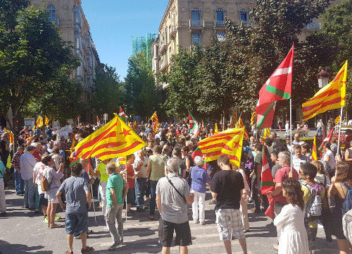 Rally for Catalan independence