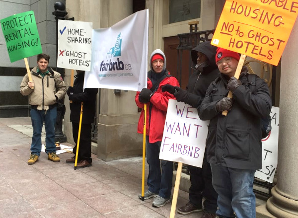 Rally to protect rental housing