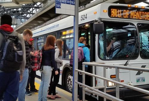 Winnipeg public bus