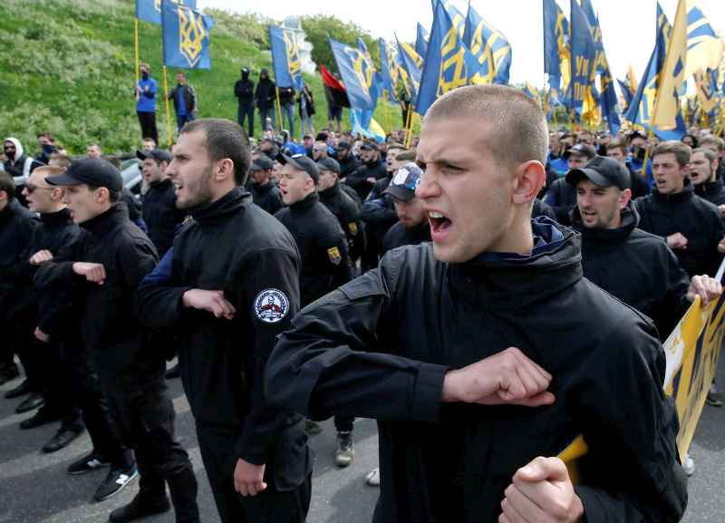 Why Does No One Care That Neo-Nazis Are Gaining Power In Ukraine? - The  Bullet